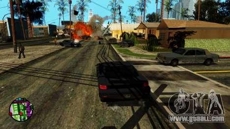 Transport V2 instead of bullets for GTA San Andreas fifth screenshot