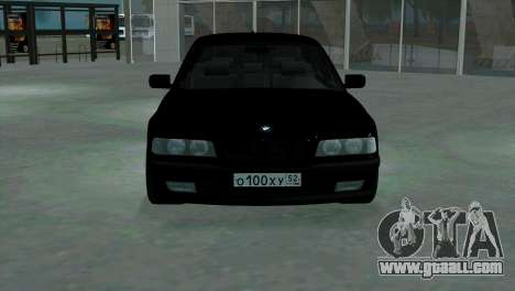 BMW 750i e38 for GTA San Andreas inner view