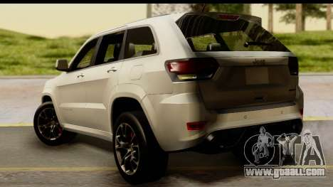 Jeep Grand Cherokee SRT8 2014 for GTA San Andreas left view