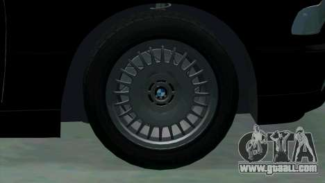 BMW 750i e38 for GTA San Andreas upper view