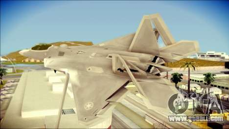 FA-18D Hornet Blue Angels for GTA San Andreas left view