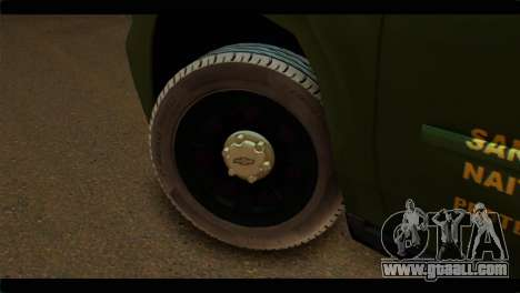 Chevrolet Suburban 2015 SANG for GTA San Andreas back left view