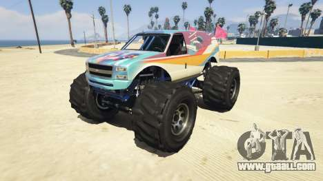 Vapid The Liberator Steven Universe Sticker v2.0 for GTA 5