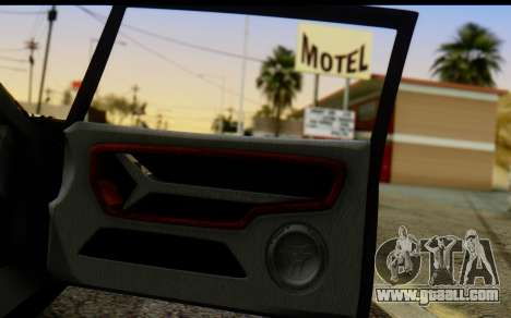 Bullet PFR v1.1 HD for GTA San Andreas wheels