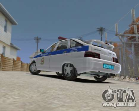 VAZ 2112 DPS for GTA 4 left view