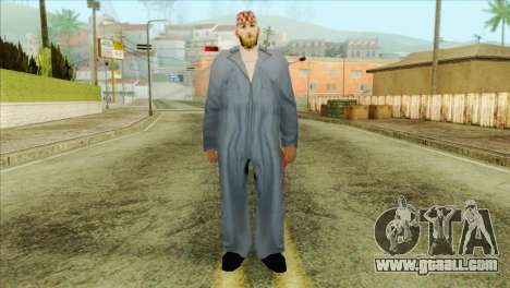 Bearded mechanic for GTA San Andreas