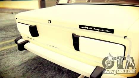 VAZ 2106 Stoke for GTA San Andreas back view