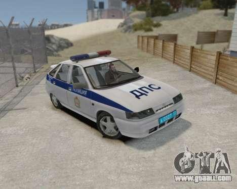 VAZ 2112 DPS for GTA 4 back left view