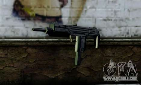 Micro Uzi from LCS for GTA San Andreas