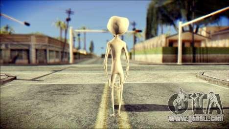 Gray Alien Skin Skin for GTA San Andreas second screenshot