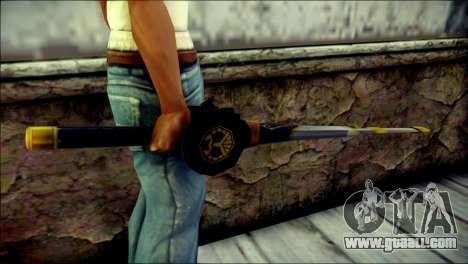 Saber Dice Kamen Rider Beast for GTA San Andreas third screenshot