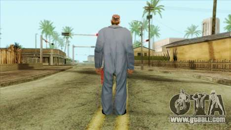 Bearded mechanic for GTA San Andreas second screenshot
