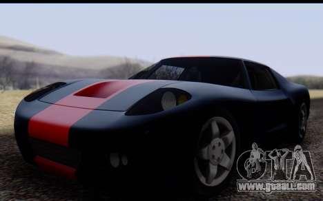 Bullet PFR v1.1 HD for GTA San Andreas left view