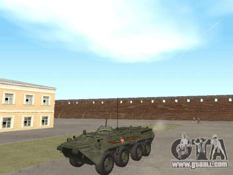 BTR 80 Front for GTA San Andreas