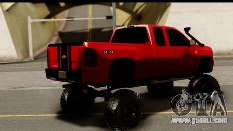 Chevrolet Silverado OffRoad for GTA San Andreas left view