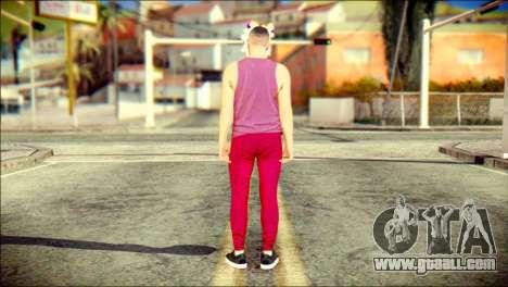 Skin Kawaiis GTA V Online v1 for GTA San Andreas second screenshot