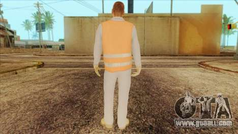 Takedown Redsabre NPC Shipworker v2 for GTA San Andreas second screenshot