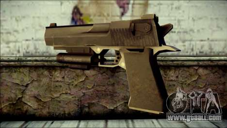 Rumble 6 Desert Eagle for GTA San Andreas second screenshot