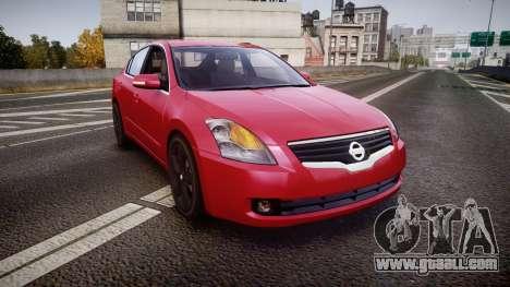 Nissan Altima 3.5 SE for GTA 4