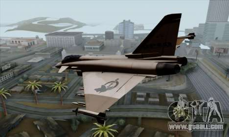 Eurofighter Typhoon 2000 UPEO for GTA San Andreas left view
