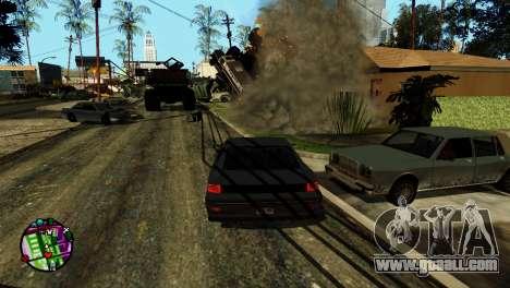 Transport V2 instead of bullets for GTA San Andreas sixth screenshot