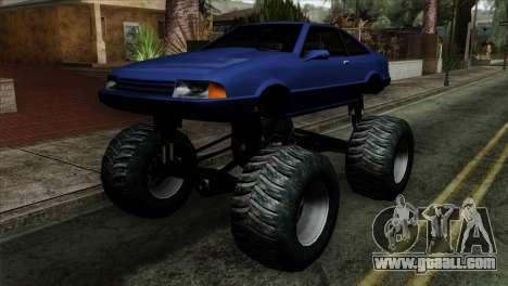 Monster Cadrona for GTA San Andreas
