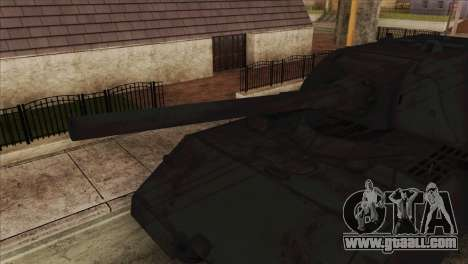 Panzerkampfwagen VIII Maus for GTA San Andreas back left view