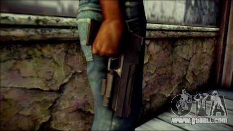 Rumble 6 Desert Eagle for GTA San Andreas third screenshot