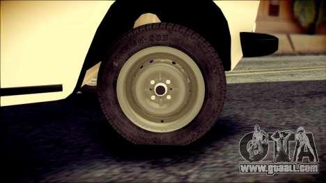 VAZ 2106 Stoke for GTA San Andreas back left view