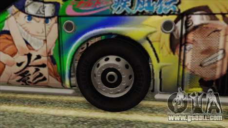 Bus Thailand for GTA San Andreas back left view