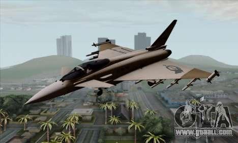 Eurofighter Typhoon 2000 UPEO for GTA San Andreas