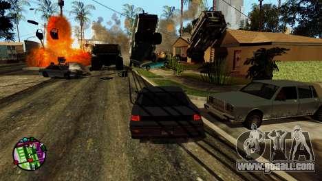 Transport V2 instead of bullets for GTA San Andreas tenth screenshot
