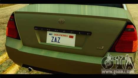 GTA 4 Pinnacle for GTA San Andreas back view