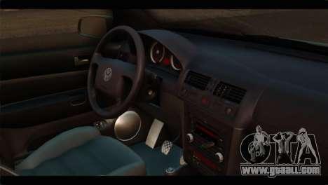Volkswagen Bora 2007 for GTA San Andreas right view