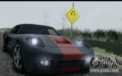 Bullet PFR v1.1 HD for GTA San Andreas