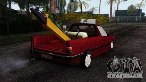 Peugeot 405 Pickup for GTA San Andreas left view