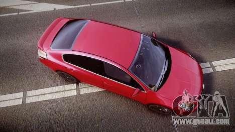 Nissan Altima 3.5 SE for GTA 4 right view