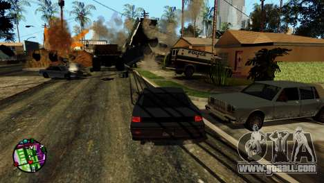 Transport V2 instead of bullets for GTA San Andreas eleventh screenshot