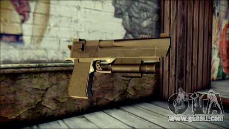 Rumble 6 Desert Eagle for GTA San Andreas
