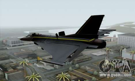 F-16XL for GTA San Andreas left view