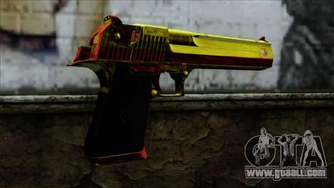 Desert Eagle Spain for GTA San Andreas second screenshot