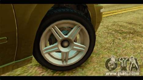 GTA 4 Pinnacle for GTA San Andreas back left view