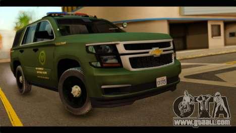 Chevrolet Suburban 2015 SANG for GTA San Andreas