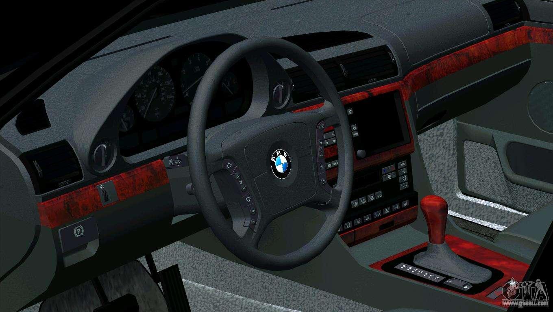 Bmw 750i E38 For Gta San Andreas