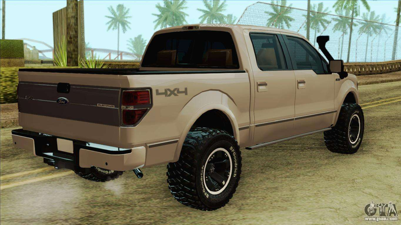 Ford F-150 Platinum 2013 4X4 Offroad for GTA San Andreas
