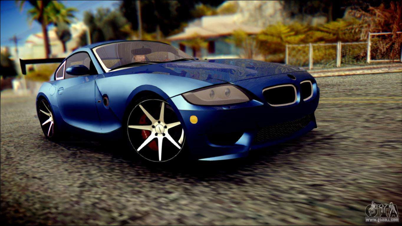 Bmw Z4m Coupe 2008 купе For Gta San Andreas