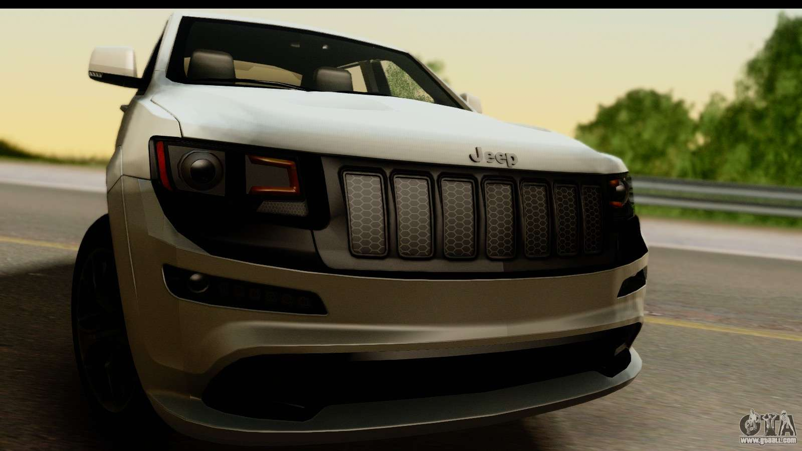 jeep grand cherokee srt8 2014 for gta san andreas. Black Bedroom Furniture Sets. Home Design Ideas