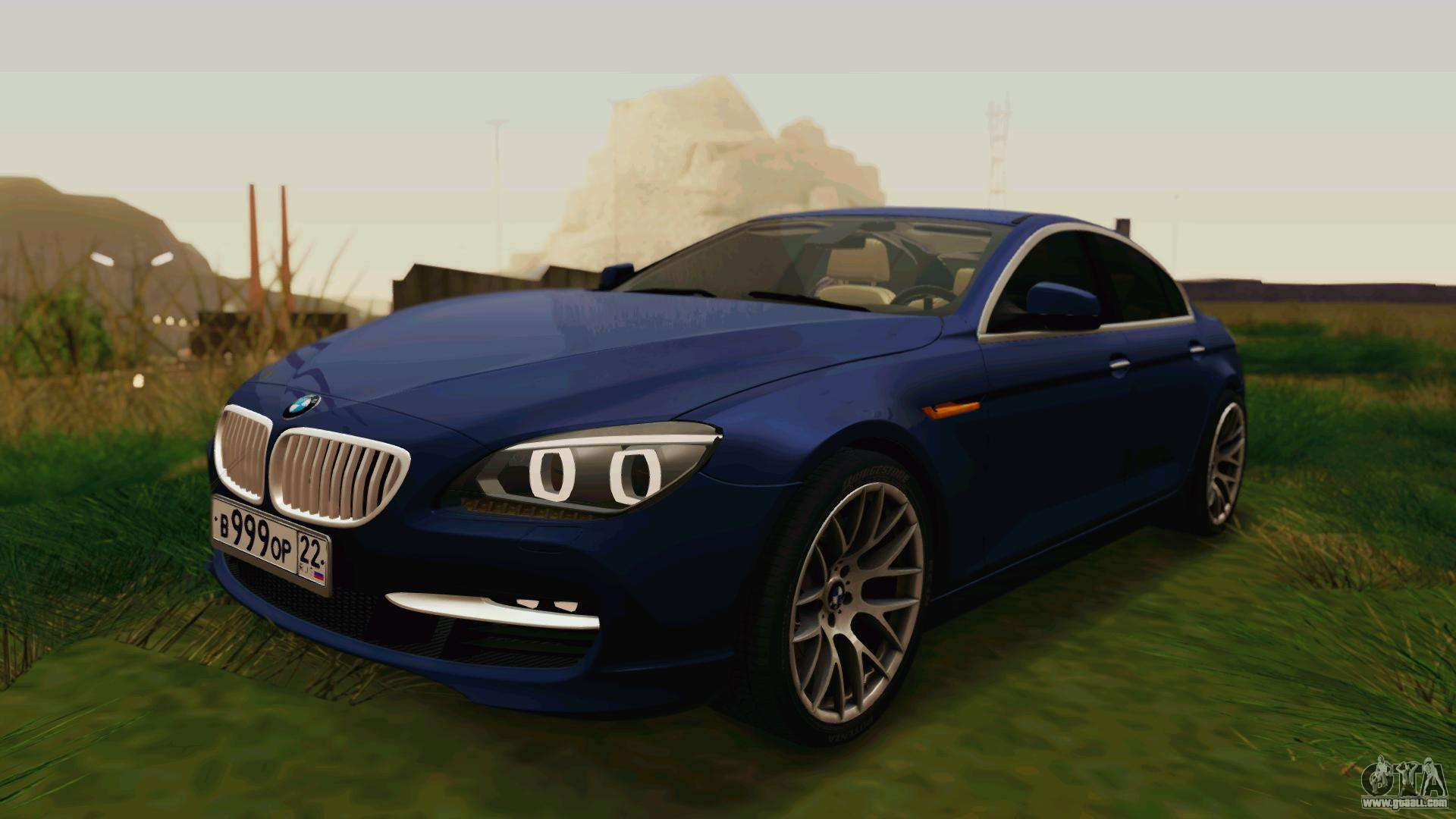 bmw 6 series gran coupe 2014 for gta san andreas. Black Bedroom Furniture Sets. Home Design Ideas