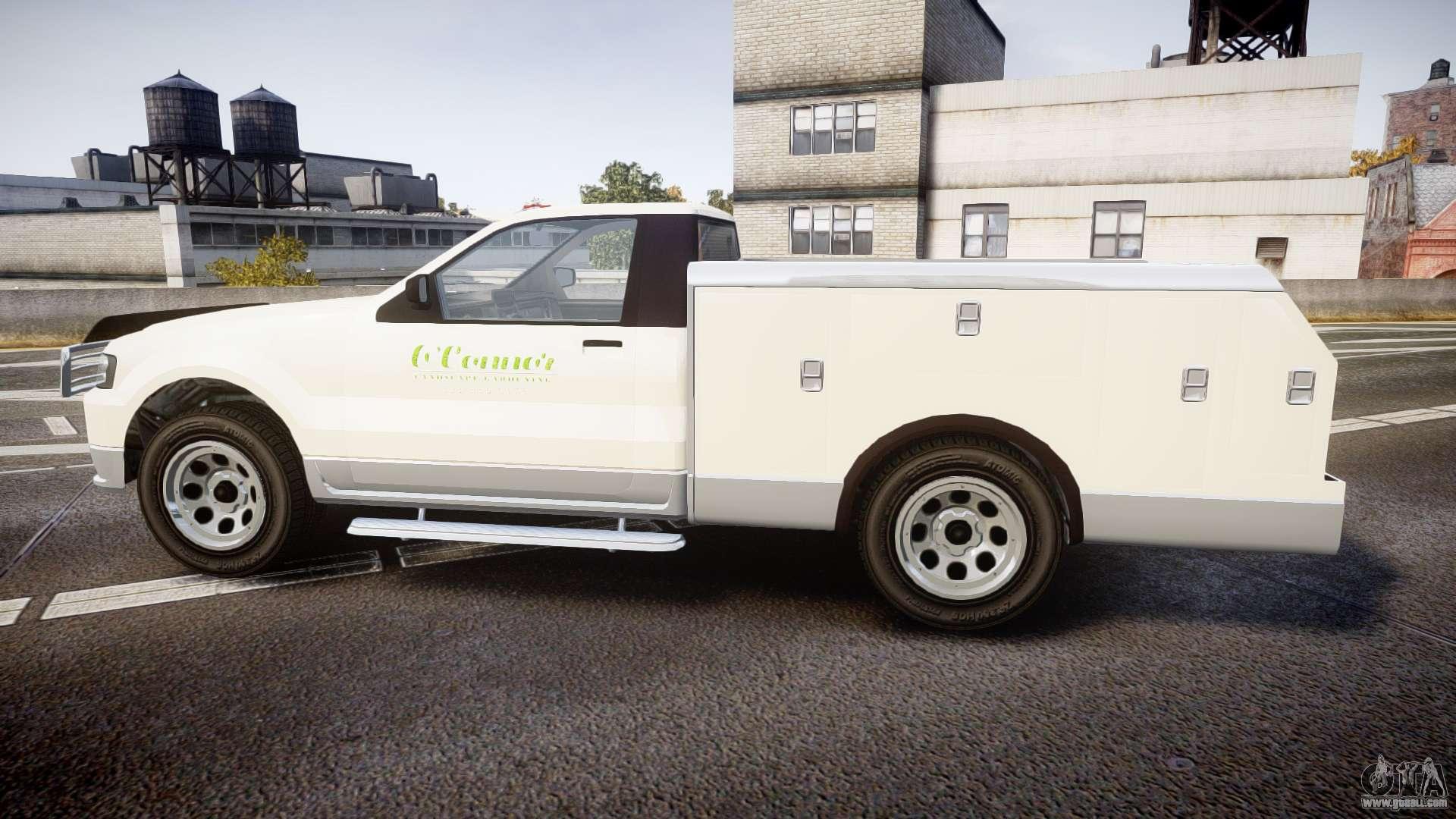 gta v vapid utility truck for gta 4. Black Bedroom Furniture Sets. Home Design Ideas