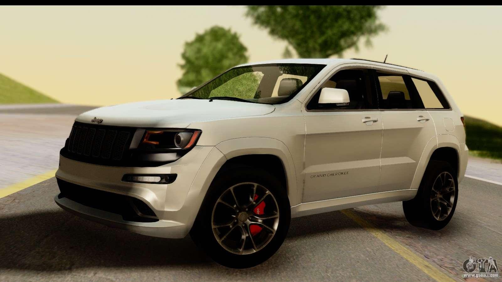 jeep grand cherokee srt8 2014 for gta san andreas. Black Bedroom Furniture Sets. Home Design Ideas